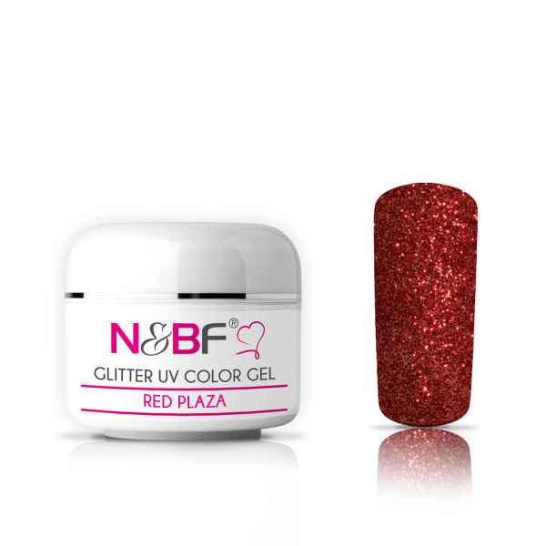 Nails-and-Beauty-Factory-Glitter-UV-Color-Gel-Farbgel-Red-Plaza