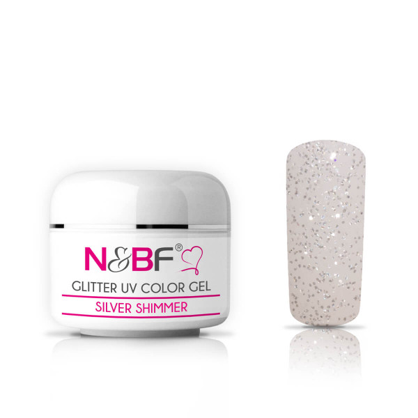 Nails-and-Beauty-Factory-Glitter-UV-Color-Gel-Farbgel-Silver-Shimmer