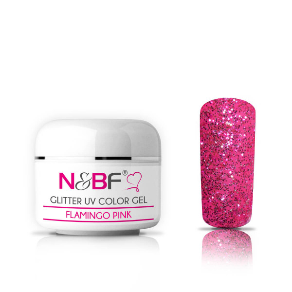 Nails-and-Beauty-Factory-Glitter-UV-Color-Gel-Farbgel-Flamingo-Pink